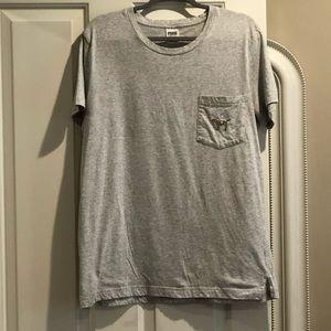 🆕PINK Victoria's Secret SS BLING T-shirt